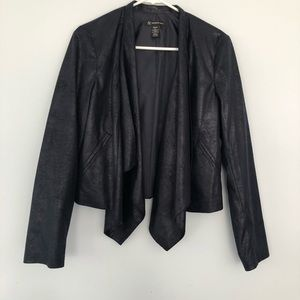 Navy blue blazer great for work or for going out!